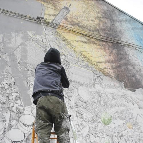 Blu – Coprire i murales, svelare le logiche del profitto