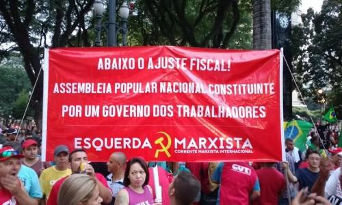 Brasile: Unità in difesa dei diritti e delle conquiste dei lavoratori! Indipendenza e lotta di classe!