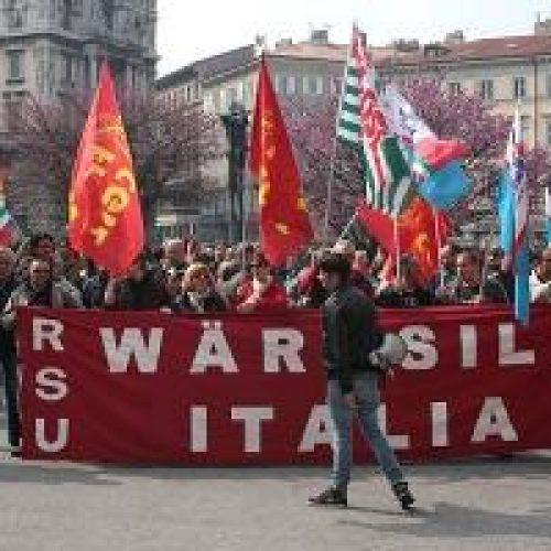 Trieste – No agli esuberi in Wartsila!