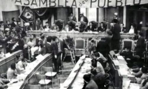 L'Assemblea popolare nella storia del movimento operaio in Bolivia