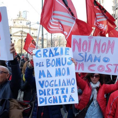 Dopo lo sciopero del 14 marzo  – TIM: No ai ricatti, proseguire la mobilitazione