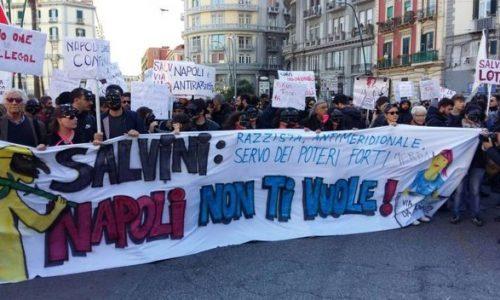 Salvini a Napoli – Un bilancio della giornata dell'11 marzo