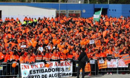"""Spagna – La lotta dei portuali: """"Nessun passo indietro!"""""""