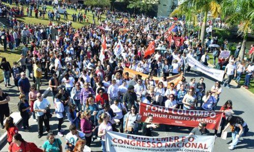 Sciopero generale in Brasile: i lavoratori lottano contro il governo corrotto di Temer