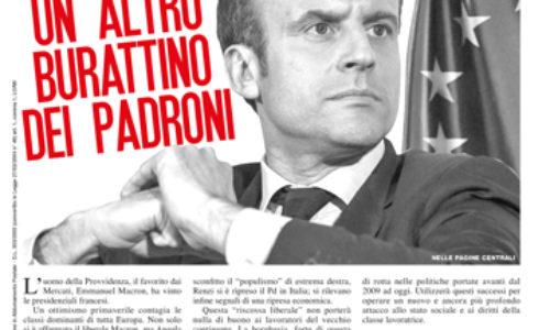 Macron – Un altro burattino dei padroni