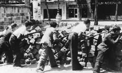 Barcellona -Le giornate di maggio del 1937  e la direzione rivoluzionaria