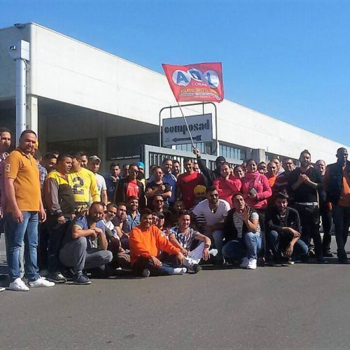 Viadana: la lotta dei facchini del gruppo Saviola