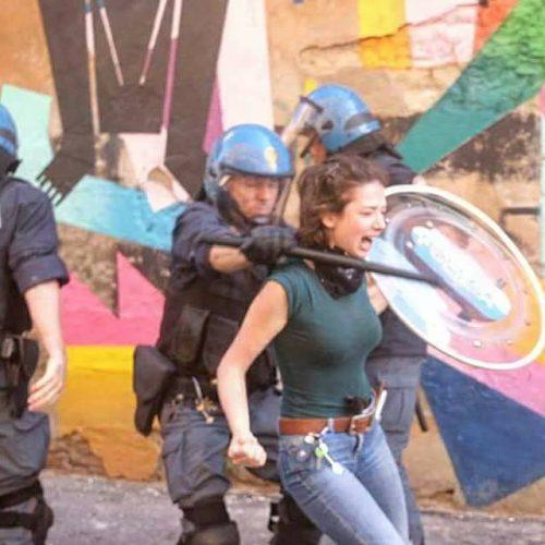 Sinistra classe rivoluzione Bologna contro i vergognosi sgomberi di Làbas e Crash