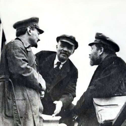 Lenin, Trotskij e i bolscevichi nel 1917