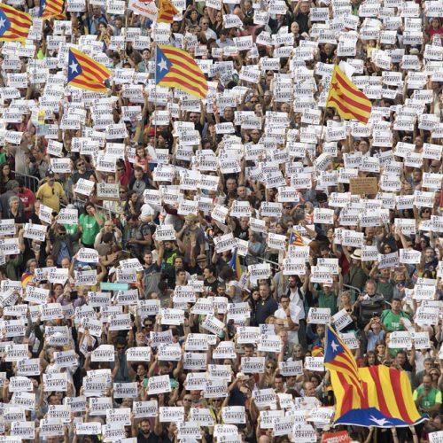 Il colpo di stato della Spagna contro la democrazia in Catalogna