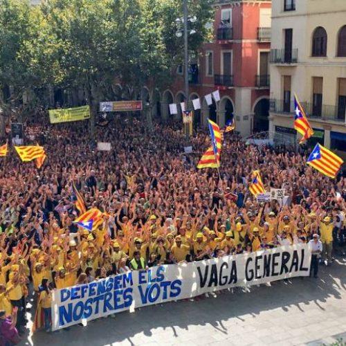 La lotta per la Repubblica catalana entra in una nuova fase
