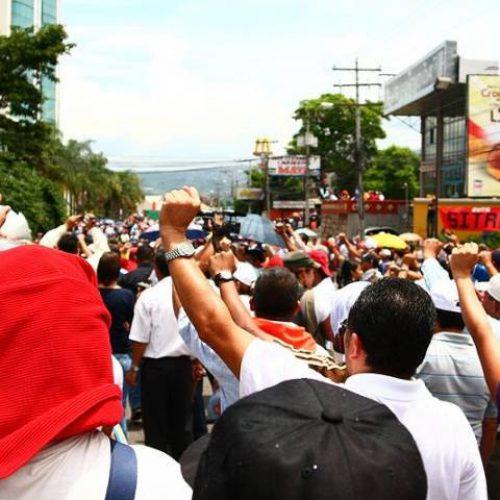 Honduras: solo l'azione delle masse può garantire la cacciata di JOH