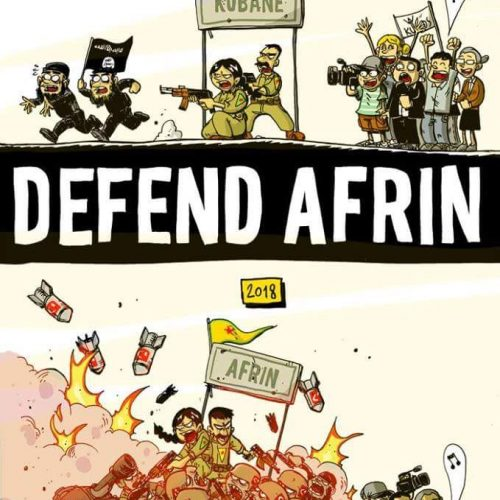 Erdogan: giù le mani da Afrin e dal Rojava!