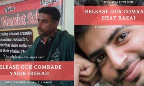 Pakistan – I sette sequestrati diventano NOVE! Tutti i compagni liberi SUBITO