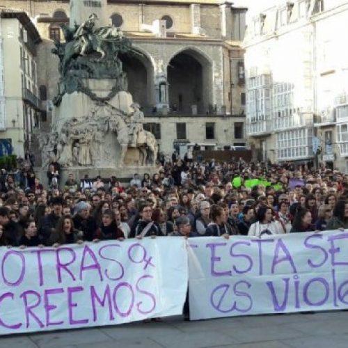 """Spagna – Sentenza della """"Manada """": manifestazioni di massa contro la giustizia patriarcale e di classe"""