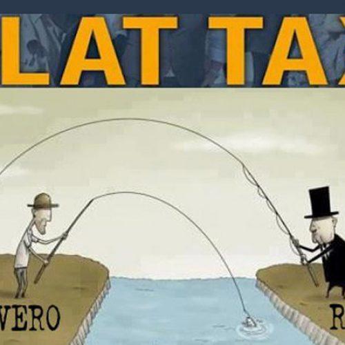 Flat tax, un regalo ai padroni!