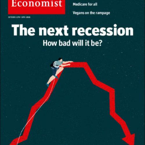 """""""The Economist"""" e i pericoli di una nuova recessione"""