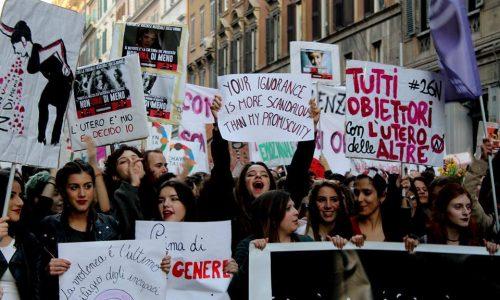 Roma, 24 novembre – Tutte in piazza!