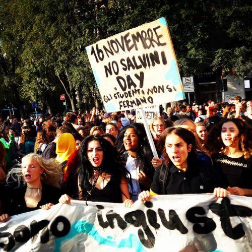 Razzismo – sfruttamento – repressione – crisi – precarietà: Ribellarsi è giusto!