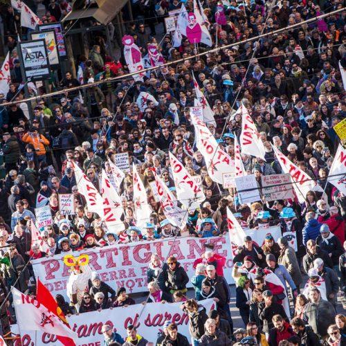 Solidarietà al Movimento No Tav dal Congresso di Sinistra classe rivoluzione