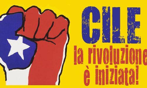 Cile: la rivoluzione è iniziata! Assemblee a Roma, Bologna e Milano