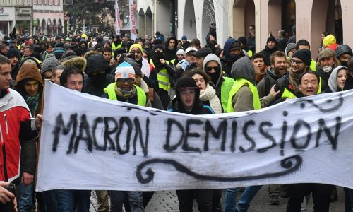 FRANCIA  – Ora basta, Macron démission!