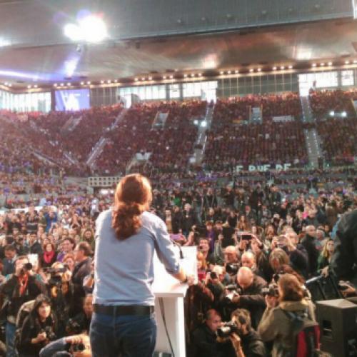 Breve cronaca di un comizio a Madrid
