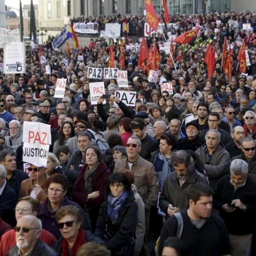 Spagna – Le manifestazioni contro la guerra aprono la campagna elettorale