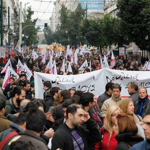 Lo sciopero generale del 4 febbraio: il ritorno della lotta di massa in Grecia