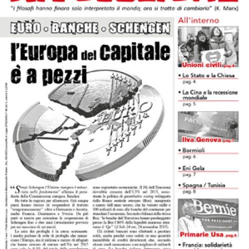L'Europa del Capitale è a pezzi