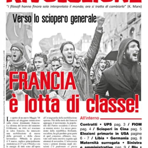 Francia – É lotta di classe!