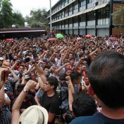 Messico: la lotta esplosiva degli studenti del Politecnico!