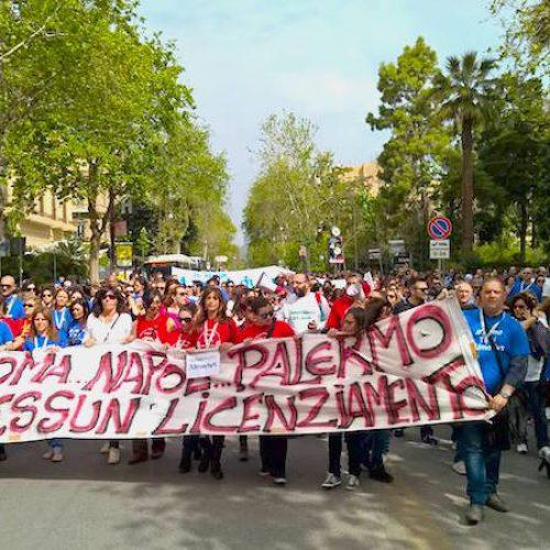 Almaviva – L'appello dei lavoratori per uno sciopero nazionale
