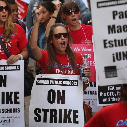 Chicago – Gli insegnanti dicono no ai privati