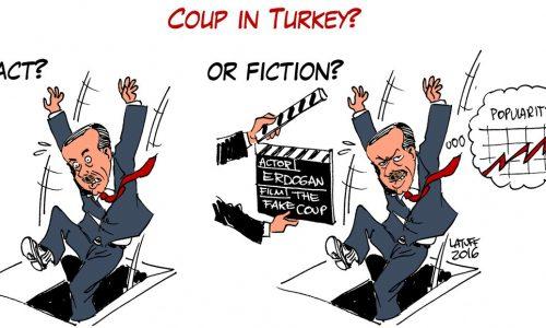 """Turchia – Un colpo di stato """"sgangherato"""" che serve ad Erdoğan come ancora di salvezza"""