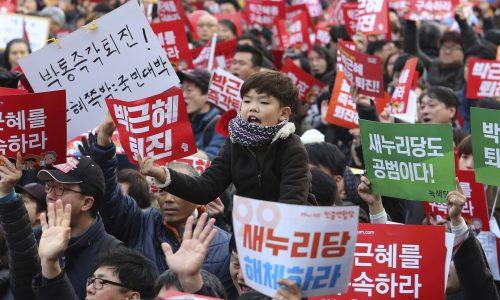 Corea del Sud: crisi di regime e rivolta di massa
