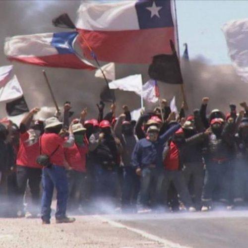 Cile -Sciopero ad oltranza nella miniera più grande di rame più grande del mondo