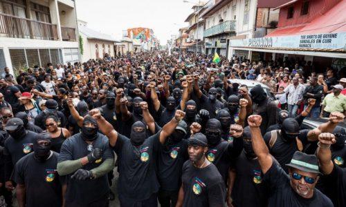 Sciopero generale ad oltranza nella Guyana francese!