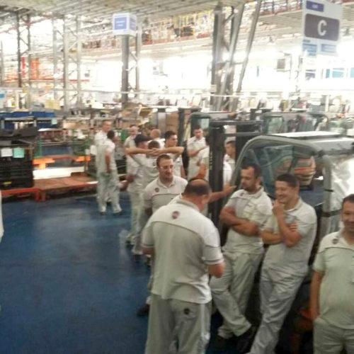 Lo sciopero ad oltranza dei lavoratori Fca di Kragujevac (Serbia)