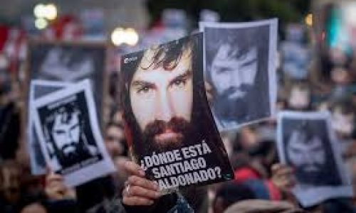 Argentina – Per il rilascio immediato di Santiago Maldonado!