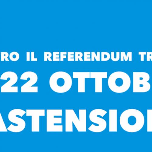 Boicottiamo il referendum truffa di Zaia e Maroni!