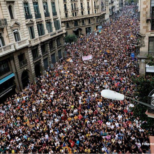 Catalogna – Lo sciopero generale del 3 ottobre e il discorso reazionario del Re