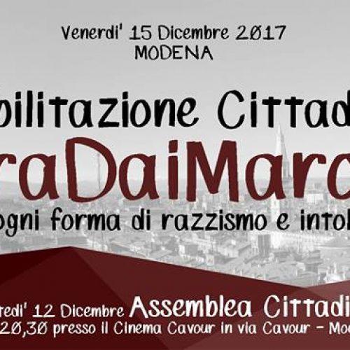 Modena – Si vietino i banchetti e ogni agibilità ai fascisti!