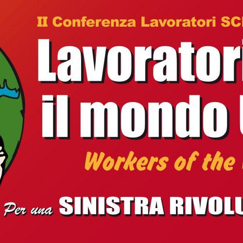 Milano, 3-4 febbraio – Seconda conferenza nazionale dei lavoratori di Scr