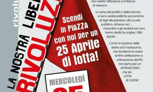 Sul corteo del 25 aprile a Roma