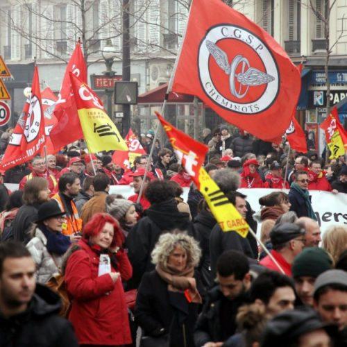 Francia – La resistenza ai tagli al settore pubblico risveglia la memoria del maggio '68