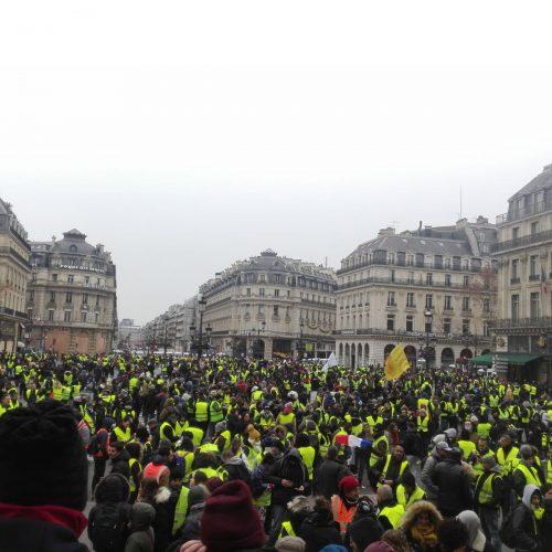 Gilet gialli – Una testimonianza da Parigi