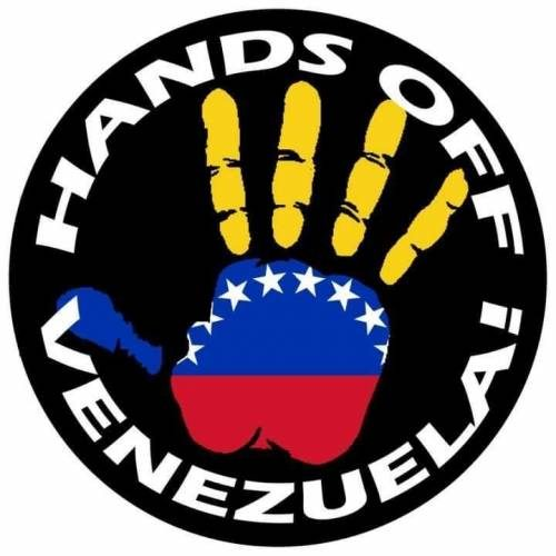 No al golpe! No alla guerra! Giù le mani dal Venezuela!