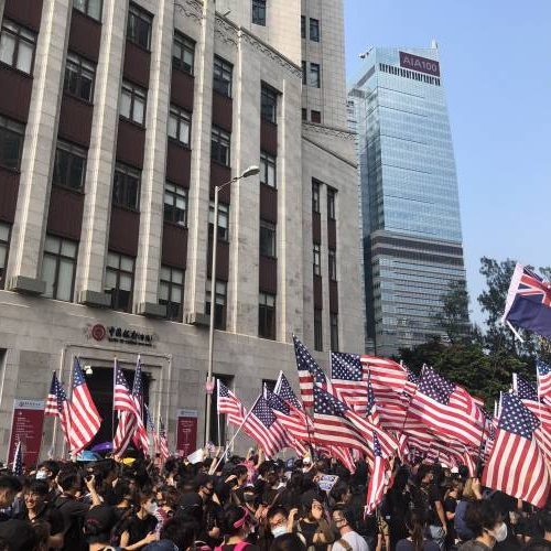 Gli Stati Uniti non sono amici di Hong Kong