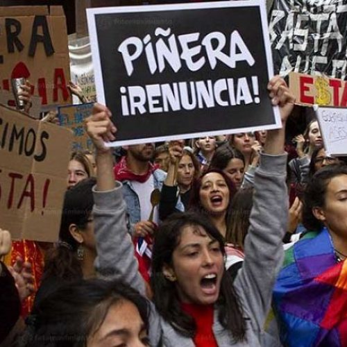 Cile – L'aumento del biglietto scatena un'insurrezione popolare